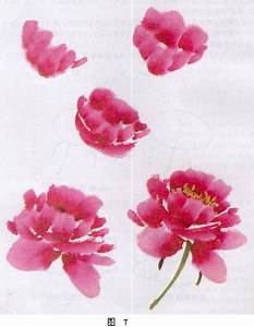 Image result for chinese brushstroke peony | Peony ...