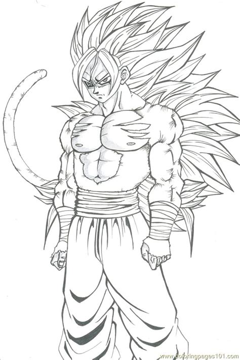 ssj goku coloring pages coloring home