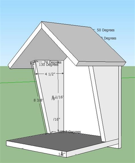 robin bird house plans thinking this might be good in my