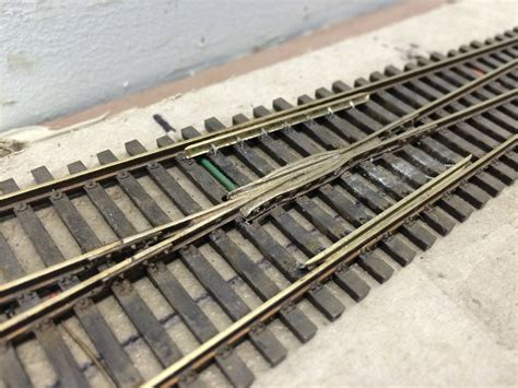 peco track turnout frog west plan turnouts industrial modified lead gregamer