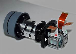 Infocus Lp540 Projector Lens Lcd Assembly Optical Engine