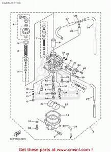 Yamaha Ttr125er  Lwer 2003 Carburetor