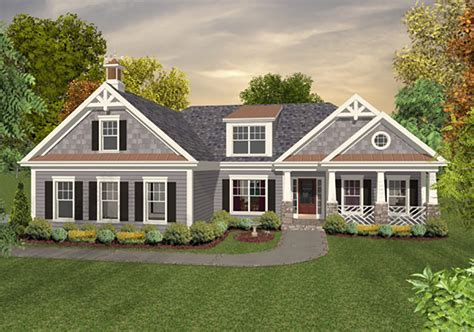 craftsman style house plan 4 beds 4 baths 1700 sq ft plan 56 628