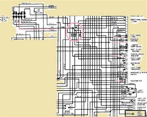 75 Corvette Wiring Diagram by Specific Diagrams Tumbleweed Transmission