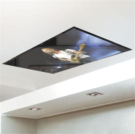 Tv Mounted In Or On Ceiling Is Perfect For Dentist And