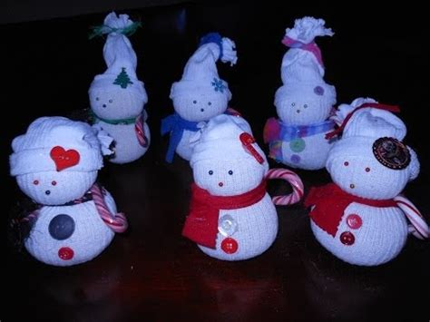sock snowman diy crafts guide patterns