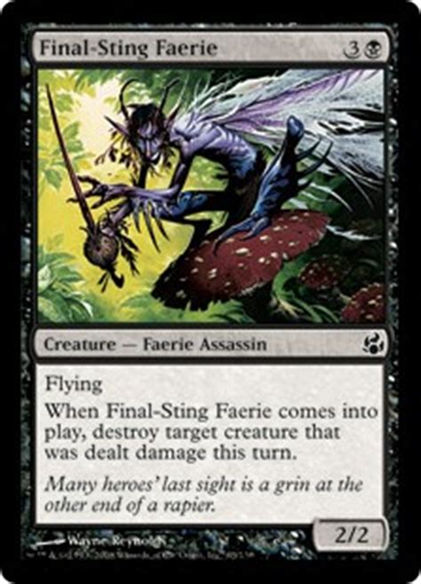 final sting faerie morningtide gatherer magic the