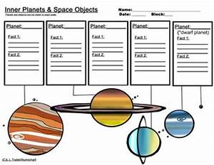 Inner and Outer Planet Worksheets...Bonus: 4 Piece Clip ...