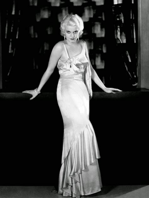 Phyllis Loves Classic Movies Behind The Dress Jean Harlow The Bias Cut