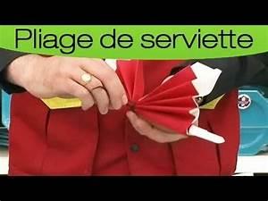 Fleur En Papier Serviette : comment plier une serviette en forme de papillon youtube ~ Melissatoandfro.com Idées de Décoration