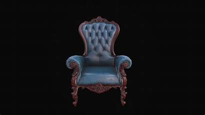 Armchair Classical Leather