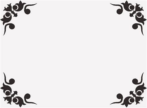 simple corner border design   clip art