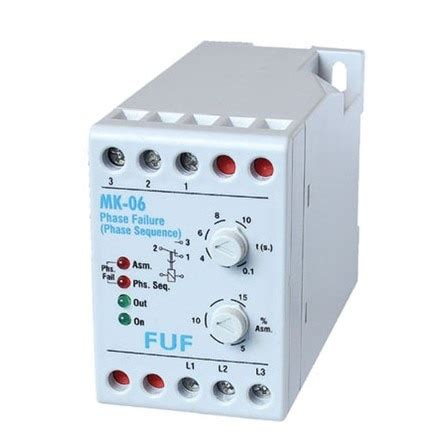 mk 06 phase failure relay the protection from the phase failure phase sequence voltage