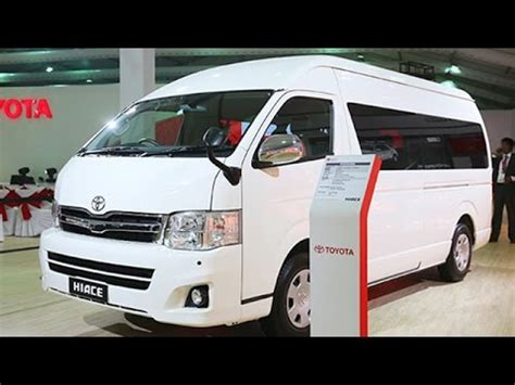 toyota hiace unveiled  india launch  youtube