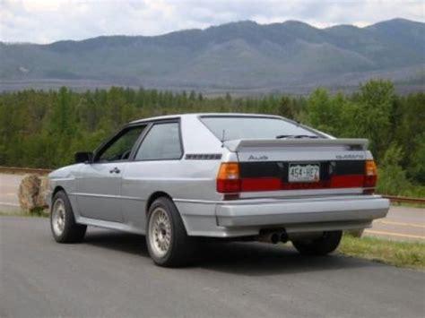 active cabin noise suppression 1987 audi coupe gt instrument cluster bargain driver 1983 audi ur quattro bring a trailer