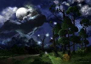 Moon and Stars by Jshinncreative on DeviantArt