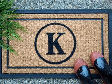 Personalized Doormats by Come On In Ultra Creative Diy Doormats Reliable Remodeler