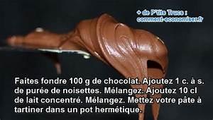 Nutella Maison Recette : enfin la recette du nutella maison facile faire ~ Nature-et-papiers.com Idées de Décoration
