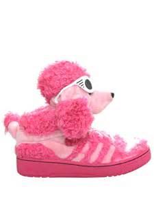 Girls Pink Adidas High Top Shoes