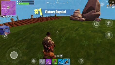 victory royale fortnite battle royale mobile solo