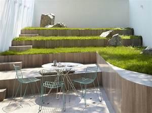 5 idees pour un jardin design elle decoration With decoration de jardin design