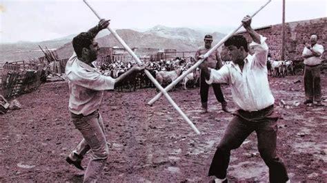 El rincón del Aikido: juego del garrote canario