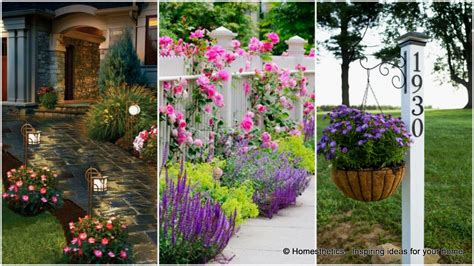 16 Curb Appeal Ideas To Enhance And Draw Attention To The