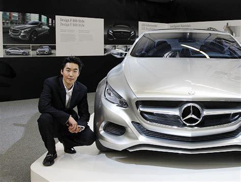 car designer salary the korean designer helping to drive mercedes s