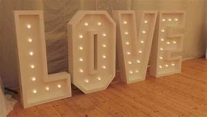 led love mr and mrs letters beat n bop discos mobile With big led letters