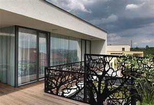 Brise Vue Bois Balcon : palissade balcon panneau bois brise vue idmaison ~ Edinachiropracticcenter.com Idées de Décoration