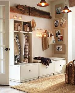 meuble de rangement pour l39entree en 35 idees magnifiques With meuble de rangement hall d entree 13 banc porte manteau