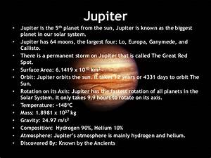 Pics For > Planet Jupiter Facts