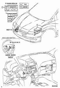 Toyota Sienna Steering Wheel Wiring Harness  Wire  Cruise