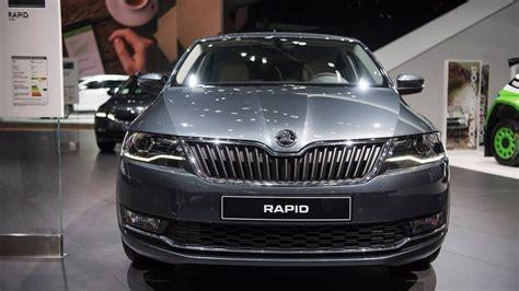 Skoda Rapid facelift revealed with bi-xenon headlights, 1 ...