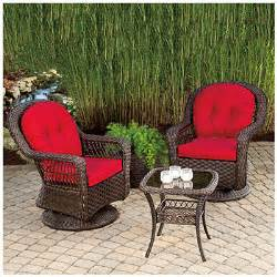 view wilson fisher 174 charleston resin wicker 3 piece