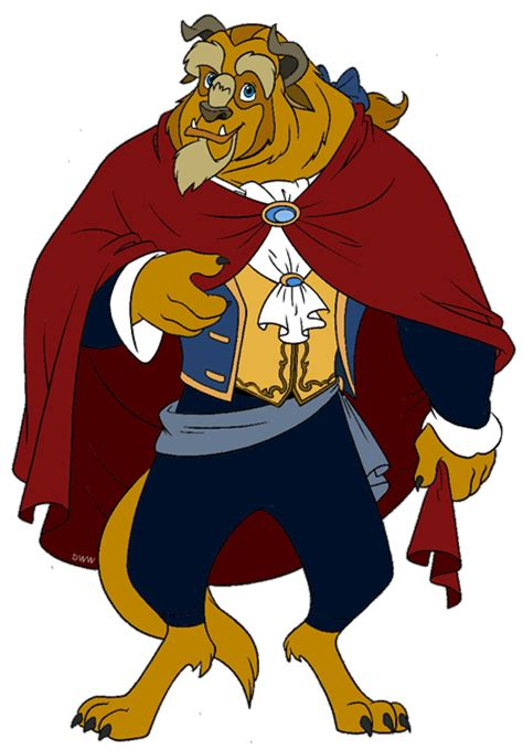 And The Beast Clipart The Beast And The Prince Clip Disney Clip Galore