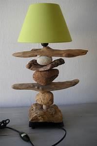 Lampe à Poser Ikea : costumiser une lampe ik a au fil de l 39 eau bois flott ~ Teatrodelosmanantiales.com Idées de Décoration