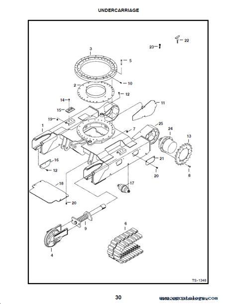bobcat    series excavator parts manual preliminary