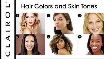 Skin Tone Hair Colour Colors Medium
