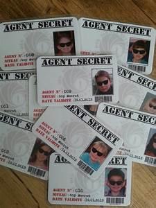 Code Secret Carte Auchan : carte d 39 agent secret anniversaire th me agent secret pinterest le site anniversaires et ~ Medecine-chirurgie-esthetiques.com Avis de Voitures