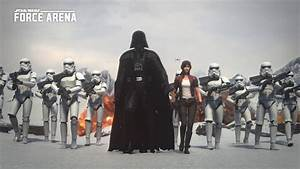 MOBA-Style PvP Game 'Star Wars: Force Arena' Now Available ...
