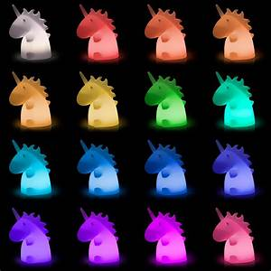 Giant Super Kawaii Unicorn Lampu ThinkGeek