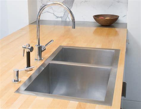 flush mount kitchen sinks true flush mount stainless steel kitchen and bathroom sink 3498