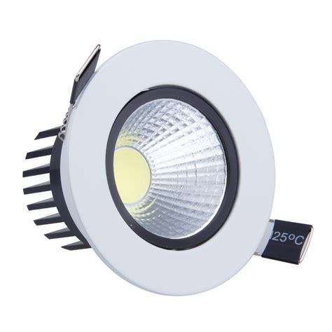 50pcs 6w 9w led cob spot light led dimmable recessed led