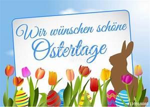Schöne Ostertage Bilder : wir w nschen sch ne ostertage stockfotos und lizenzfreie vektoren auf bild 139918080 ~ Orissabook.com Haus und Dekorationen