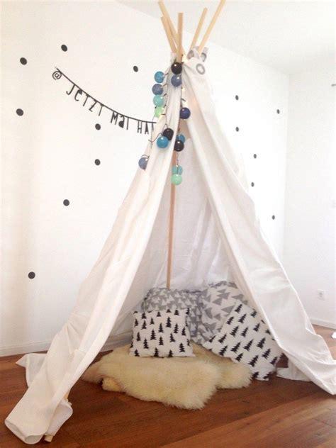 Tipi Kinderzimmer Nähen by Diy Tipi Decor Ideas For Rooms Diy Tipi Tipi Und Diy