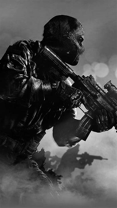 Duty Ghost Call Iphone Mobile Wallpapers Background