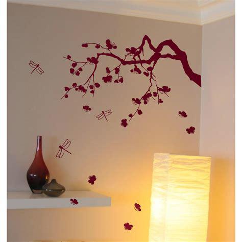 stickers muraux chambre adulte fabulous sticker cerisier japonais with stickers pour