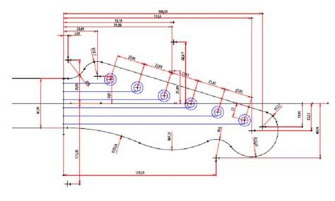The Pdf Template Fender Stratocaster Standerd Headstock by Printable Guitar Template Pdf Page 2 Telecaster