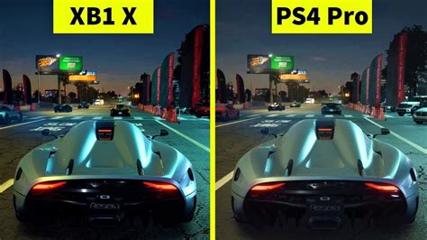 need for speed ps4 payback need for speed payback ps4 pro vs xbox one x graphics comparison